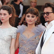 Johnny Depp and Astrid Berges Frisbey