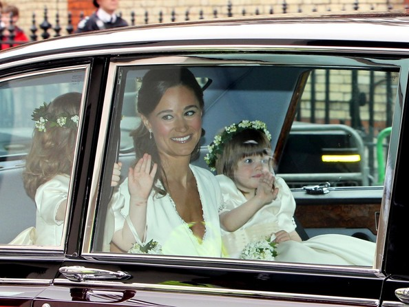 Pippa Middleton Friday April 29 2011.