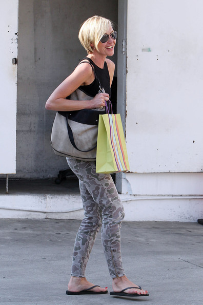 Portia De Rossi Shops in Beverly Hills