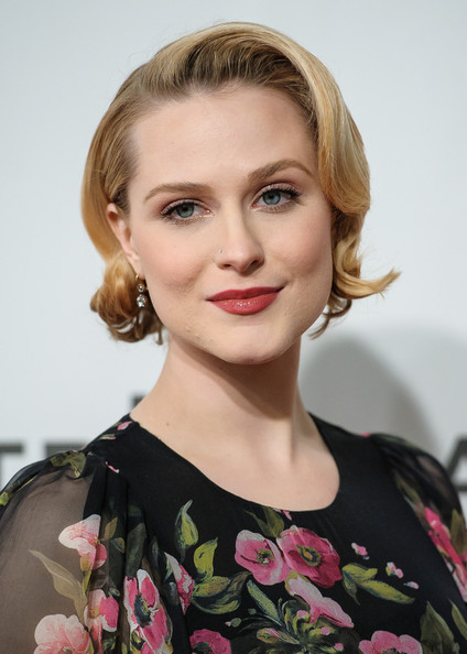 Evan Rachel Wood Shows Off Her Maternity Style in NYC - Zimbio