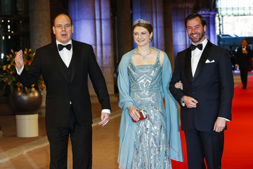 Prince Albert Guests Arrive for a Dinner With the Royal Family
