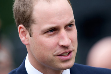 Prince William British Royals Meet with Wounded Veterans
