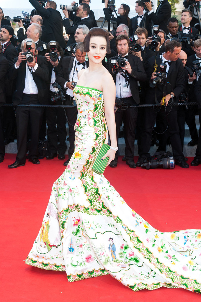 Fan Bingbing Photos Photos The Red Carpet At The Cannes
