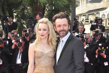 """Rachel McAdams Michael Sheen Rachel McAdams and Michael Sheen go public together as the two attend the """"Sleeping Beauty"""" film premiere at the 64th Cannes Film Festival in France"""