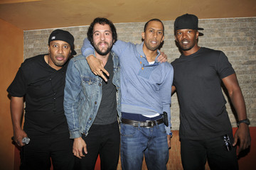 """Jamie Foxx Affion Crockett Stars at the Debut of """"In the Flow"""" in Beverly Hills 2"""