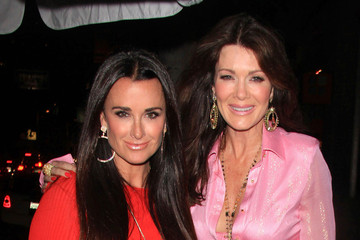 """Kyle Richards Lisa Vanderpump """"Real Housewives of Orange County"""" star Alexis Bellino at a birthday event for Patti Stanger at Koi in West Hollywood"""