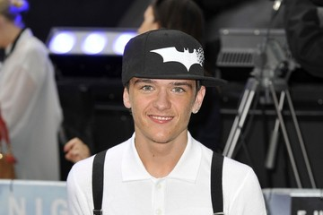 George Sampson Red Carpet Arrivals at 'Dark Knight Rises' Premiere in London