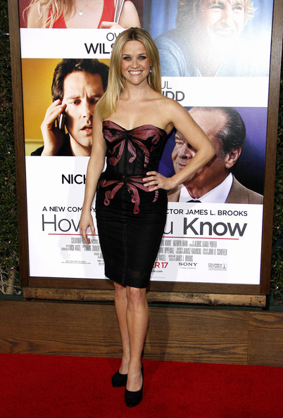 "Reese Witherspoon at the Los Angeles premiere of ""How Do You Know"" held at the Regency Village Theater, Los Angeles."