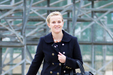 Reese Witherspoon Reese Witherspoon at Her Son's Soccer Game