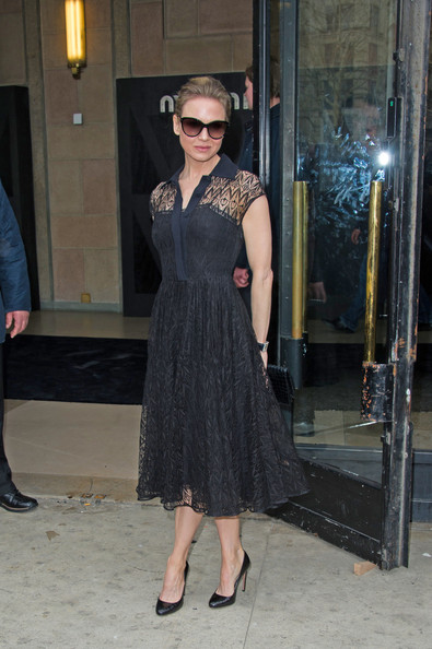Renee Zellweger - Arrivals at the Miu Miu Fashion Show 3