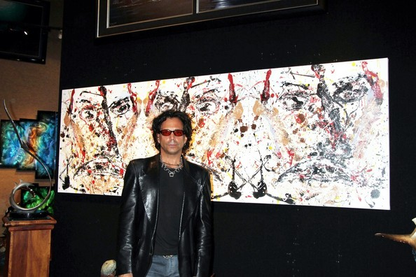 Richard Grieco Photos Richard Grieco Shows His Paintings In Vegas