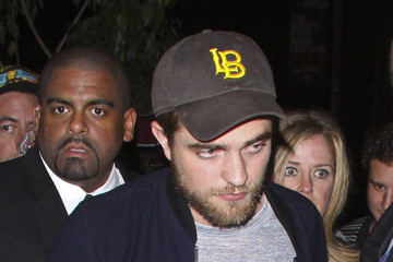 Robert Pattinson Robert Pattinson and Other Celebrities at Trousdale