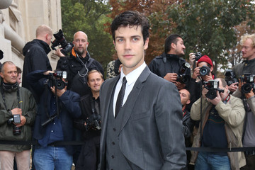 Roberto Bolle PFW: Arrivals at Chanel