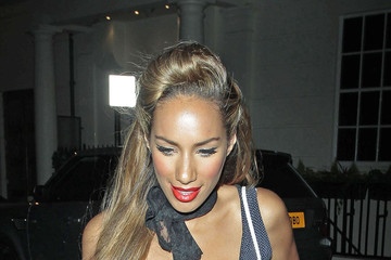 Leona Lewis Pumps Up the Volume