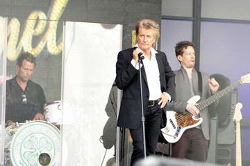 Rod Stewart Rod Stewart Performs on 'Jimmy Kimmel Live!'