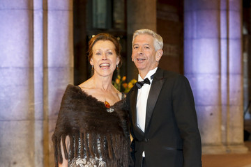 Ronald Plasterk Guests Arrive for a Dinner With the Royal Family