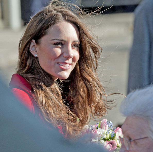 kate middleton modeled at st andrews. kate middleton st andrews