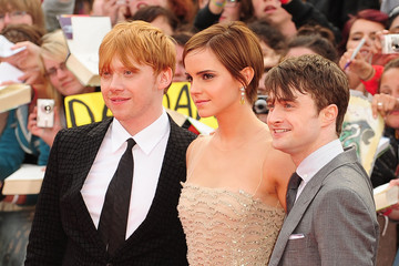 Daniel Radcliffe Emma Watson 'Harry Potter And The Deathly Hallows: Part 2' UK Premiere