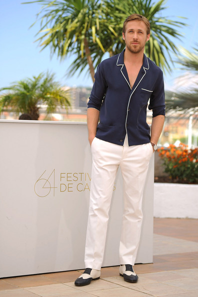 "Ryan Gosling Ryan Gosling at the photocall for the movie ""Drive"", held as part of the 64th Cannes Film Festival."