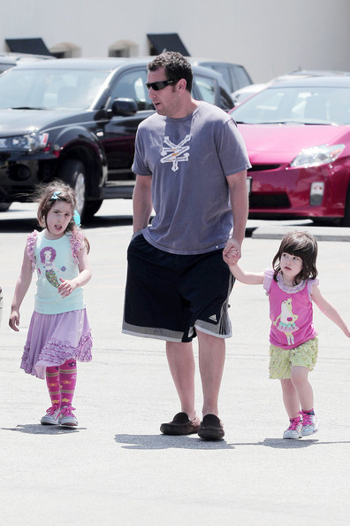 Adam Sandler and Daughters in Sadie And Sunny Sandler