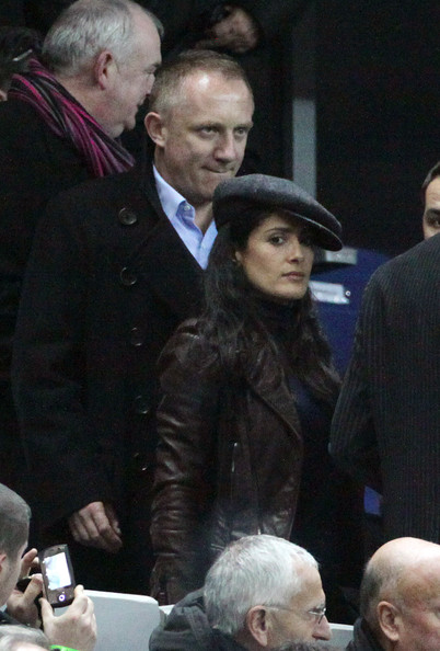 salma hayek husband francois henri pinault. Salma Hayek and husband,