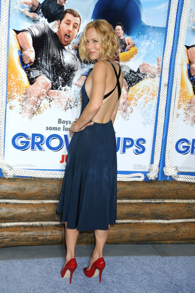Maria Bello - The Insanely Huge Cast of 'Grown Ups 2' - Zimbio