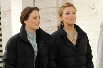Leighton Meester Katie Cassidy Sam Page and Katie Cassidy Film at the Lincoln Center