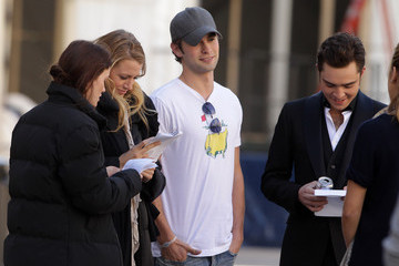 Leighton Meester Chace Crawford Sam Page and Katie Cassidy Film at the Lincoln Center