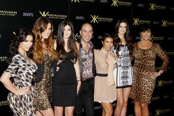 Kris Jenner Kylie Jenner Stars at the Kardashian Kollection launch party in LA