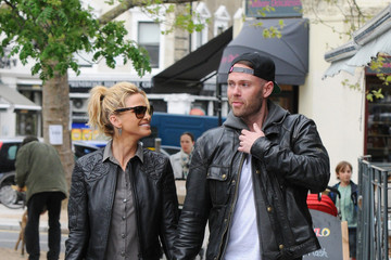 Sarah Harding Sarah Harding Out with Her Boyfriend — Part 2