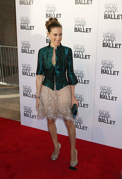 Sarah Jessica Parker at the NYC Ballet Spring Gala.