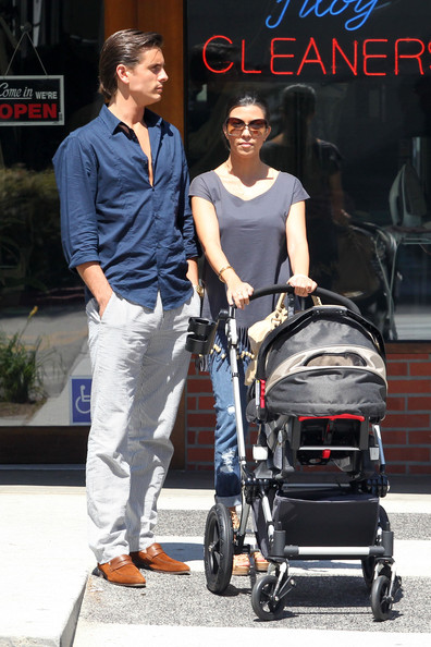 Scott Disick and Mason Disick - Kourtney Kardashian and Scott Disick ...