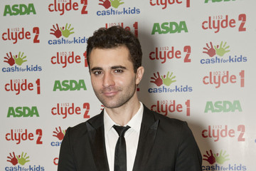 Darius Danesh Radio Clyde's Cash for Kids Christmas Lunch in Glasgow