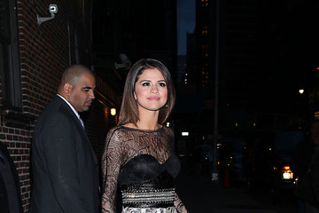 Selena Gomez Selena Gomez at the Ed Sullivan Theater
