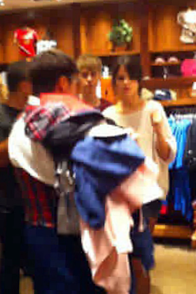 Selena Gomez THE HAPPIEST PLACE ON EARTH! Selena Gomez celebrates her birthday by doing some shopping at Disneyland with boyfriend Justin Bieber. The Disney actress turned 19 today, July 22.