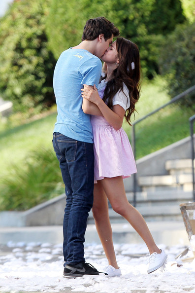 Nat Wolff in Selena Gomez Films 'Parental Guidance' in L.A ...