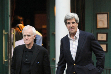 Bob Kerrey Senators John Kerry and Bob Kerrey are spotted out and about in New York City