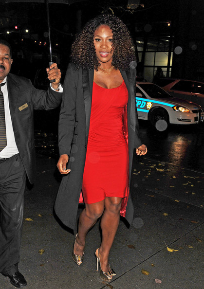 Serena Williams - Betsey Johnson in Midtown Manhattan