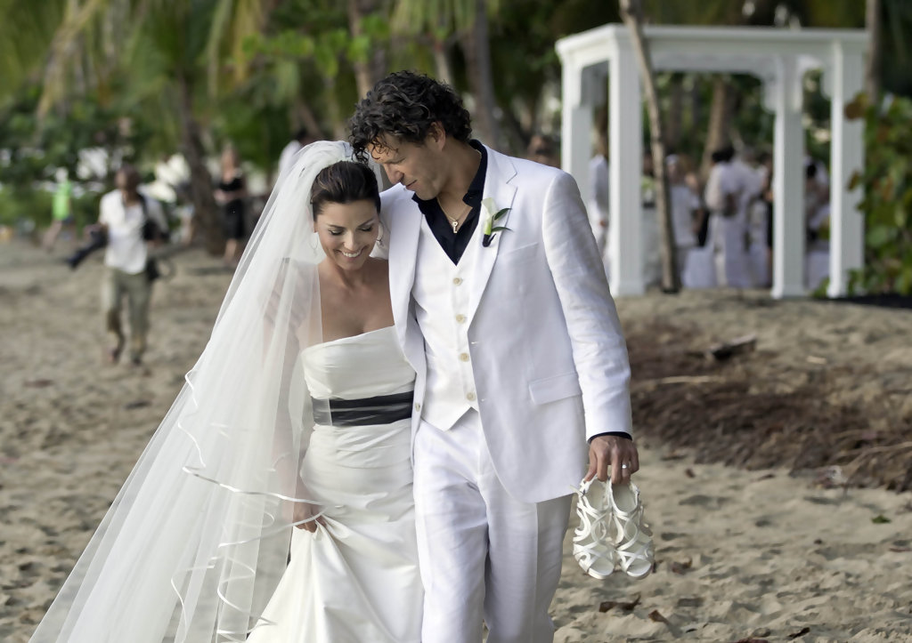 Frederic Thiebaud Photos Photos Shania Twain Weds Frederic Thiebaud On New Year S Day In