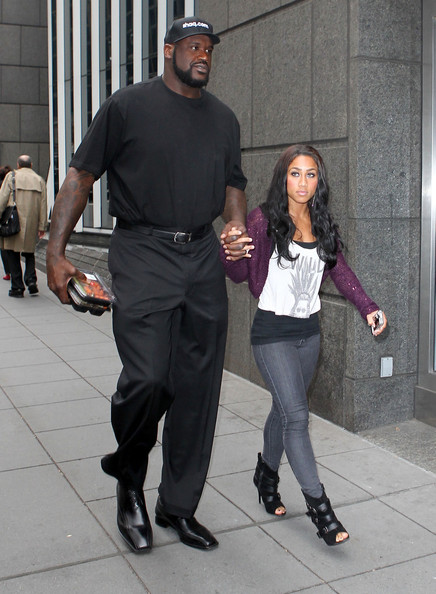 Shaquille O'Neal with Single