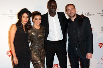 Fred Testot Eva Longoria and Others at the Global Gift Gala