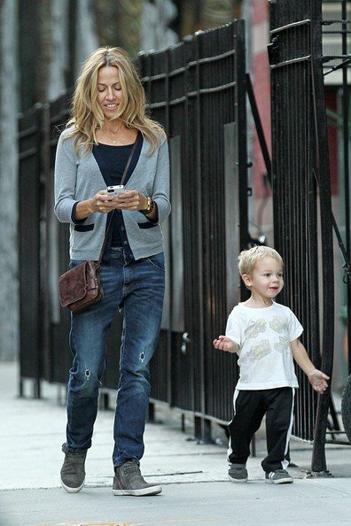 Photo of Sheryl Crow & her Son  Levi James Crow