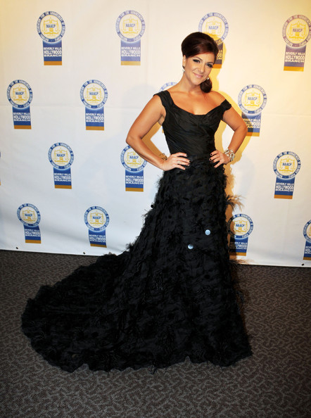 Eva Marcille and Shoshana Bean attending the 22nd Annual NAACP Theatre Awards at the Directors Guild of America in Los Angeles