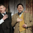 Simon Day 'The Ladykillers' Stage Performance in London