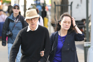 Soon-Yi Previn Woody Allen and Soon-Yi Previn Out in New York City
