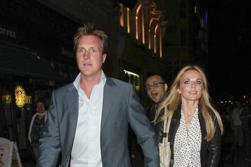 Henry Beckwith Geri Halliwell and Henry Beckwith at Cafe de Paris