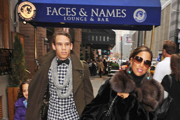 Stacey Dash Stacey Dash in NYC with Her Kids