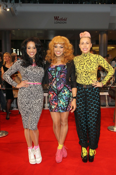 "Stooshe Stooshe attending the UK Premiere of ""Avengers Assemble"" held at Westfield Vue cinema in London."