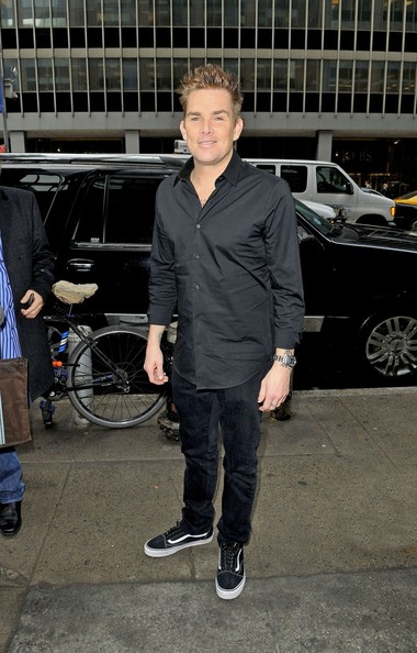 Mark McGrath at the Atlantic Records Building in NYC