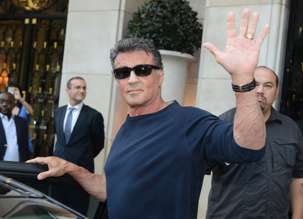 Sylvester+Stallone+Stallone+Family+Vacat